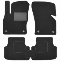 Коврики в салон для Skoda Octavia A7 '13-, текстильные, черные (Optimal)