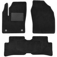 Textile-Pro Килимки в салон для Toyota C-HR '16-, AWD, текстильні, чорні (Optimal)