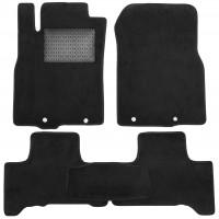 Коврики в салон для Toyota FJ Cruiser '06-, текстильные, черные (Optimal)