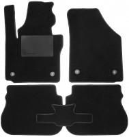 Коврики в салон для Volkswagen Caddy '16-, текстильные, черные (Optimal)