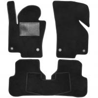 Textile-Pro Коврики в салон для Volkswagen Passat B6 '05-10, текстильные, черные (Optimal)