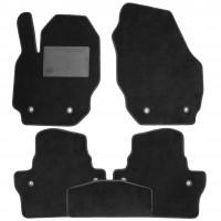 Коврики в салон для Volvo XC70 '07-16, текстильные, черные (Optimal)