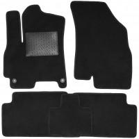 Фото товара 1 - Коврики в салон для Chery Tiggo 7 '17-, текстильные, черные (Optimal)