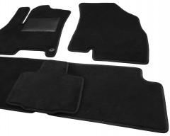 Фото товара 6 - Коврики в салон для Chery Tiggo 7 '17-, текстильные, черные (Optimal)
