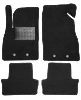 Коврики в салон для Chevrolet Volt '11-15, текстильные, черные (Optimal)