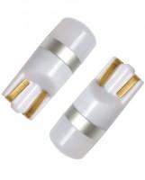 Автомобильные светодиодные лампочки Prime-X T10-S W5W 12V (комплект: 2 шт.)