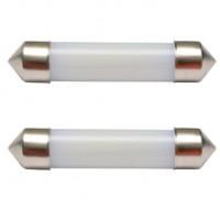 Автомобильные лампочки Prime-X F36 софитные SV8.5 (41 мм) C5W 12V (комплект: 2 шт.)
