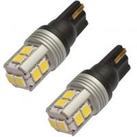 Автомобильные светодиодные лампочки с обманкой Prime-X T10SV-CAN W2.1x9.5d W5W 12V (комплект: 2 шт.)