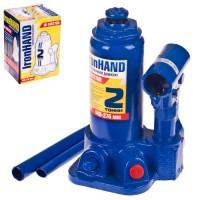 Домкрат автомобильный гидравлический бутылочный 2 т. IH-148276D (Витол)