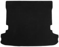 Коврик в багажник для Mitsubishi Pajero Wagon 4 (IV) '07-, текстильный, черный (Optimal)