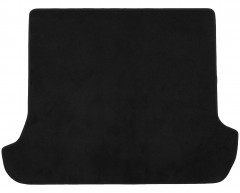 Коврик в багажник для Toyota LC Prado 120 '03-09 7 мест, текстильный, черный (Optimal)