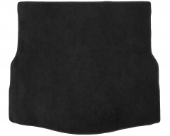 Коврик в багажник для Renault Laguna '07-15 хетчбэк, текстильный, черный (Optimal)