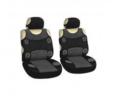 Авточехлы (майки) для переднего сидения серые Prestige