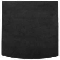 Коврик в багажник для Volkswagen Golf VII '12- универсал, текстильный, черный (Optimal)
