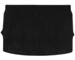 Коврик в багажник для Nissan Qashqai '17-, верхняя полка, текстильный, черный (Optimal)