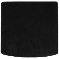 Коврик в багажник для Volkswagen Touareg '18-, текстильный, черный (Optimal)