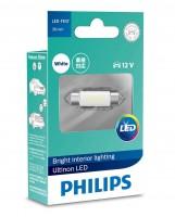 Автомобильная лампочка Philips Ultinon LED SV8.5 C5W 12V 6000K (1 шт.) 11854ULWX1