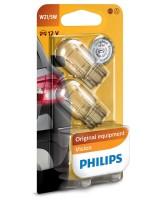 Автомобильные лампочки Philips Vision W21/5W 12V (комплект 2 шт.) 12066B2