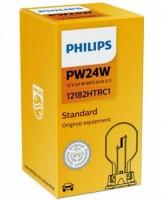 Автомобильная лампа Philips PW24W 12V (WP3,3x14,5/3) 24W (1 шт.) 12182HTRC1