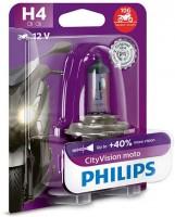 Лампа для мотоциклов Philips CityVision Moto H4 12V P43t-38 60/55W (1 шт.) 12342CTVBW