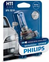 Автомобильная лампа Philips WhiteVision H11 12 V 55 W (1шт.) 12362WHVB1