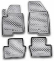 Коврики в салон для Dodge Caliber '07-12 полиуретановые, черные (Novline / Element)