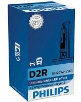 Автомобильная лампочка Philips WhiteVision D2R 35W 85V (1шт.) 85126WHV2C1