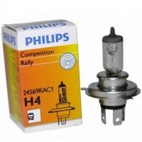 Автомобильная лампочка Philips Rally H4 100/90W 24V (1 шт.) 24569RAC1