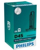 Автомобильная лампочка Philips X-tremeVision +150% D4S 42V 35W (1 шт.) 42402XV2C1