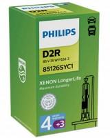Автомобильные лампы Philips Xenon LongerLife D2R 85v 35w (1 шт.) 85126SYC1
