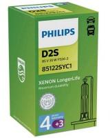 Автомобильные лампы Philips Xenon LongerLife D2S 85v 35w (1 шт.) 85122SYC1