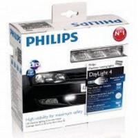 Дневные ходовые огни Philips Daylight 4 LED 12V 6W (комплект 2 шт.) 55974XM1LED