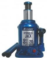 Condor Домкрат автомобильный гидравлический бутылочный 20 т. K5021 (CONDOR)