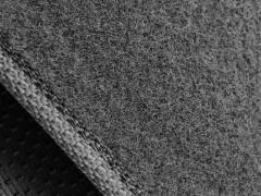 Фото 7 - Коврики в салон для Nissan Qashqai '06-14 текстильные, серые (Стандарт)