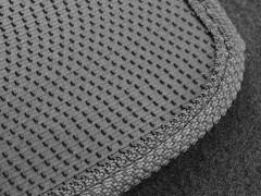 Фото 3 - Коврики в салон для Nissan Qashqai '06-14 текстильные, серые (Стандарт)