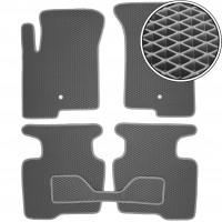 Коврики в салон для Dodge Caliber '07-12, EVA-полимерные, серые (Kinetic)