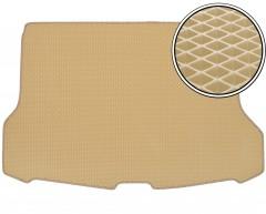 Коврик в багажник для Nissan X-Trail (T32) '17-, верхний,  EVA-полимерный, бежевый (Kinetic)