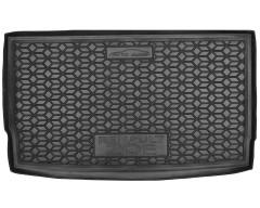 Коврик в багажник для Renault Zoe '13-, резиновый, черный (AVTO-Gumm)