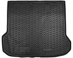Коврик в багажник для Volvo XC70 '07-16, резиновый, черный (AVTO-Gumm)