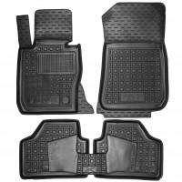 Коврики в салон для BMW X1 E84 '09-15, резиновые, черные (AVTO-Gumm)
