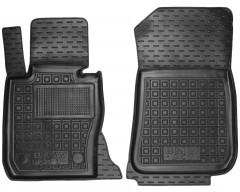 Коврики в салон передние для BMW X1 E84 '09-15, резиновые, черные (AVTO-Gumm)