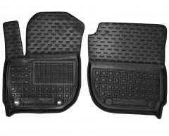 Коврики в салон передние для Honda HR-V '15-, резиновые, черные (AVTO-Gumm)