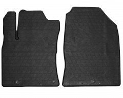 Коврики в салон передние для Kia Ceed '19- резиновые (Stingray)