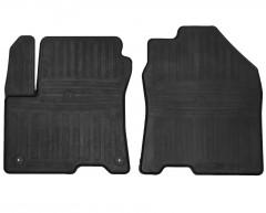 Коврики в салон передние для Hyundai Kona '17-, электро. двиг., резиновые (Stingray)