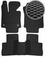 Коврики в салон для Toyota RAV4  '19-, EVA-полимерные, черные (Kinetic)