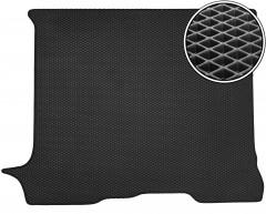 Kinetic Килимок в багажник для Renault Trafic '01-14, пас., довга база, EVA-полімерний, чорний (Kinetic)