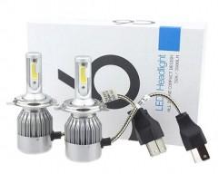 Автомобильные светодиодные лампочки C6 H4 36W (комплект: 2 шт)