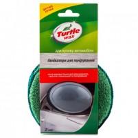 Комплект аппликаторов для полировки, с ручкой Turtle Wax (130х130мм)  2шт.