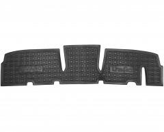Коврики в салон для Renault Trafic '01-14, второй ряд, резиновые, черные (AVTO-Gumm)