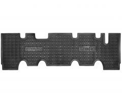 Коврики в салон для Renault Trafic '01-14, третий ряд, резиновые, черные (AVTO-Gumm)